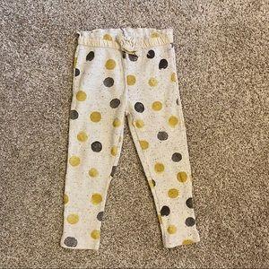 Zara polka dot legging size 3-4 (104 cm)